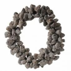 corona de piedra volcanica 38 cm.