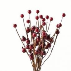 Adorno ramos o centros 20 cm, pack de 20 ramitas
