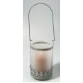 Farolillo de cristal 8,5x16,5 cm. *