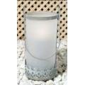 Farolillo de cristal 10,5x23 cm *