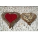 Corazon mimbre set/2,