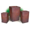 Coleccion Cubo Alto Gres set/3