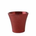 Cubremaceta rojo 15 x 14 cm