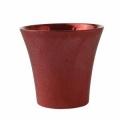 Cubremaceta rojo 18 x 17 cm