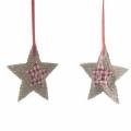 Estrellas tela para arbol
